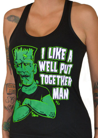 Well Put Together Man Tank