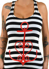 Anchor Heart Tank Top