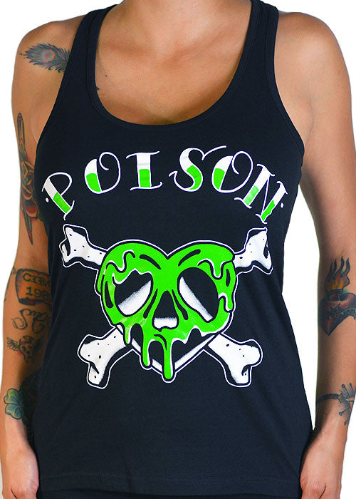 Poison Heart Tank Top