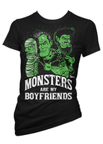 Monsters Are My Boyfriends Tee
