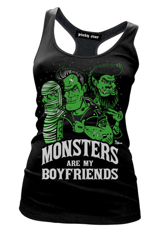 Monsters Are My Boyfriends Tank