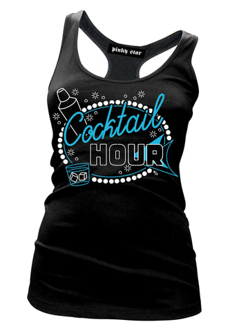 Cocktail Hour Tank Top