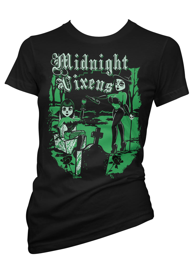 Midnight Vixens Tee