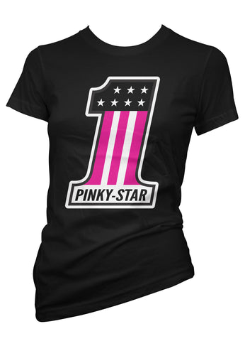 Pinky Star Number 1 Tee