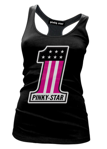 Pinky Star Number 1 Tank Top