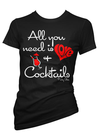 Love And Cocktails Tee