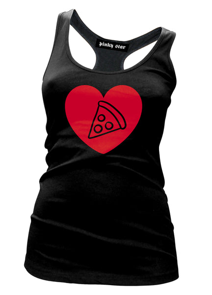 Pizza Heart Tank Top