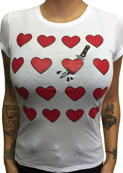 Cut Your Heart Tee