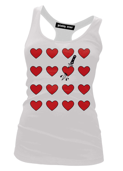 Cut Your Heart Tank Top