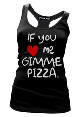 If you love me gimme pizza - pinky star