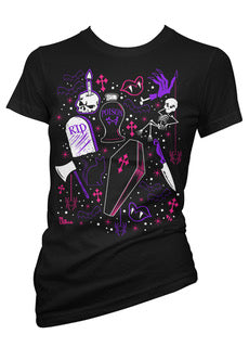 Ghoulie Girl Flash Tee