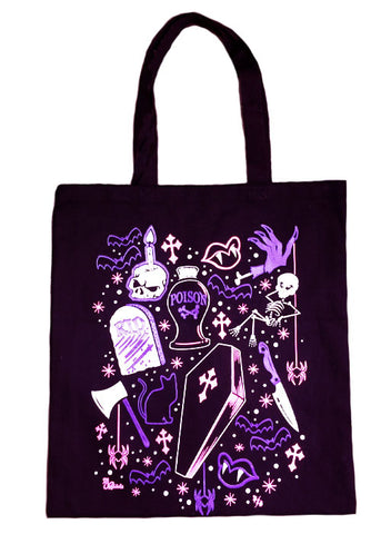 Ghoulie Girl Flash Tote Bag
