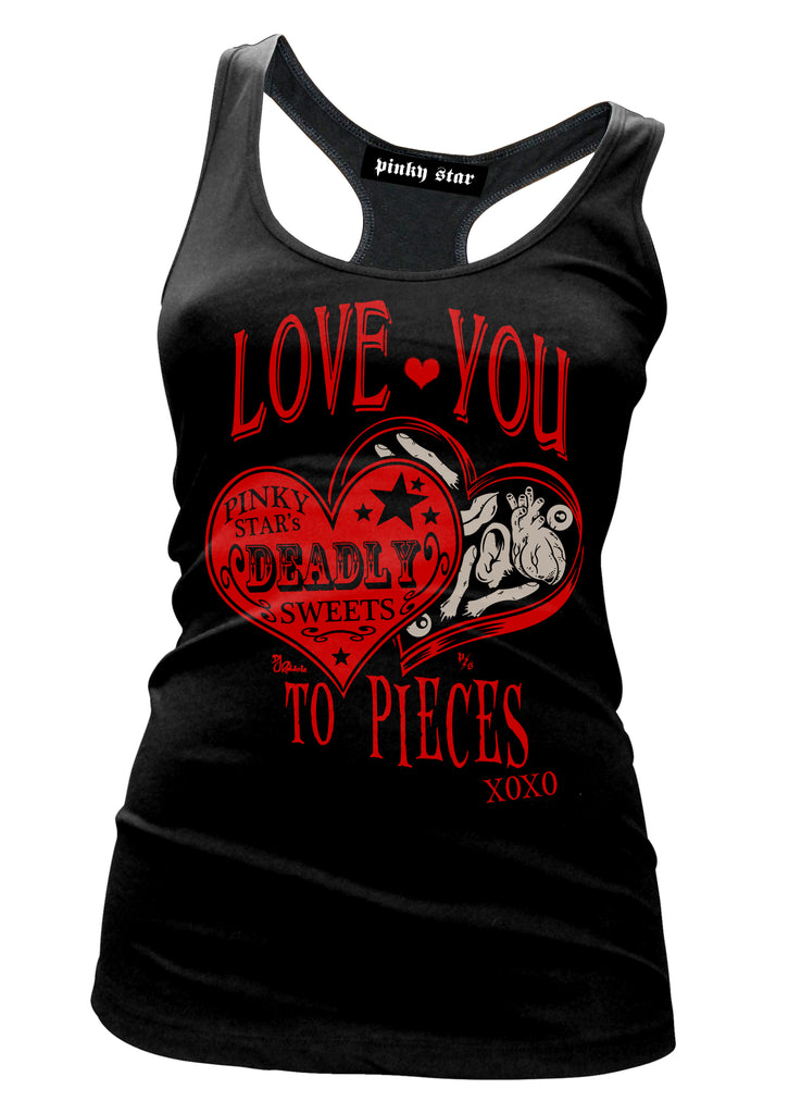 Love You To Pieces Tank Top