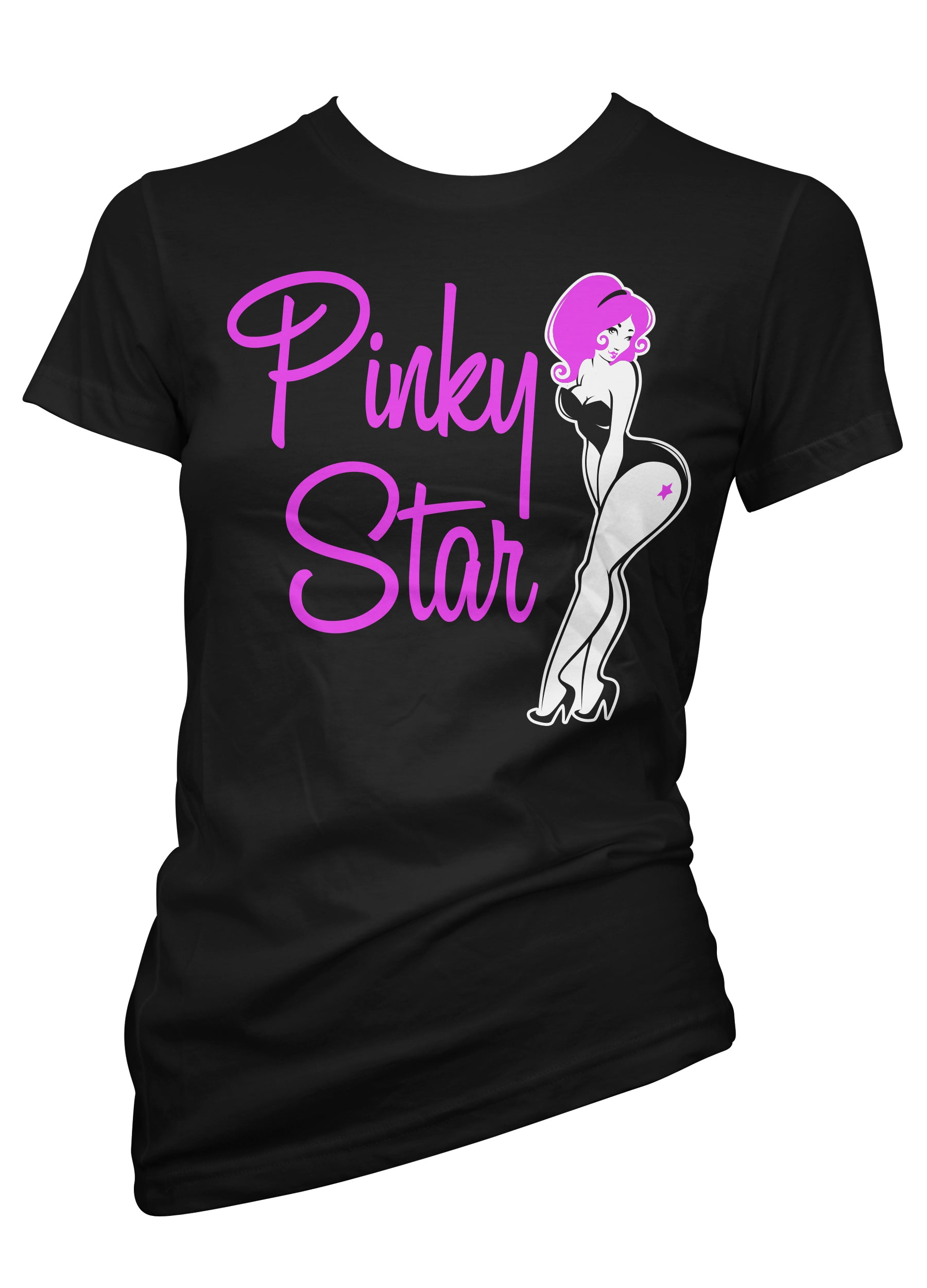pinky star curves