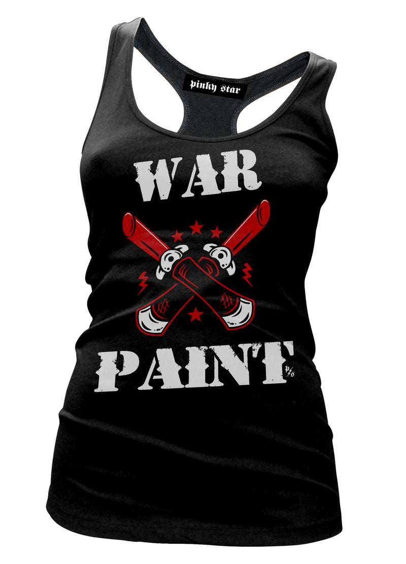 War Paint Tank Top