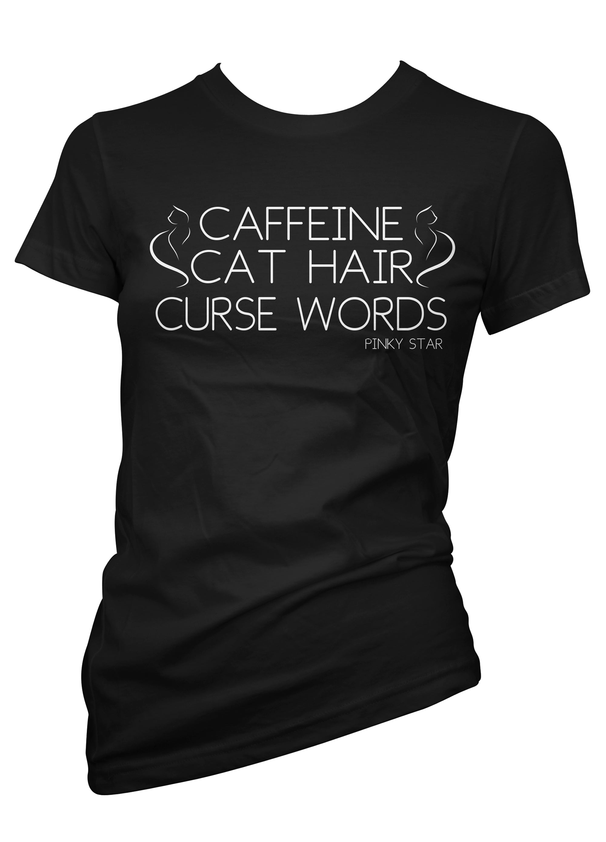 Caffeine Cat Hair Curse Words