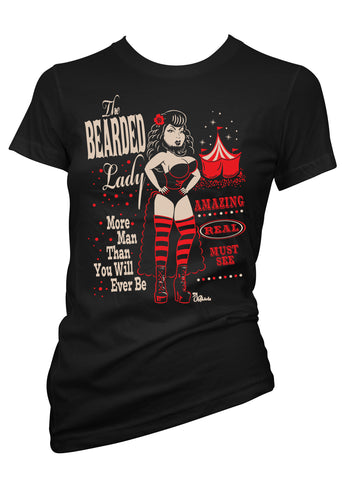 The Bearded Lady Tee