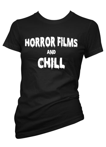 horror films and chill