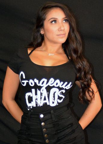 Gorgeous Chaos Body Suit