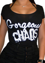 gorgeous chaos bodysuit - pinky star