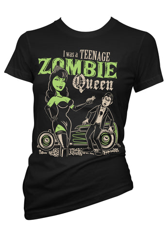 I Was A Teenage Zombie Queen Tee