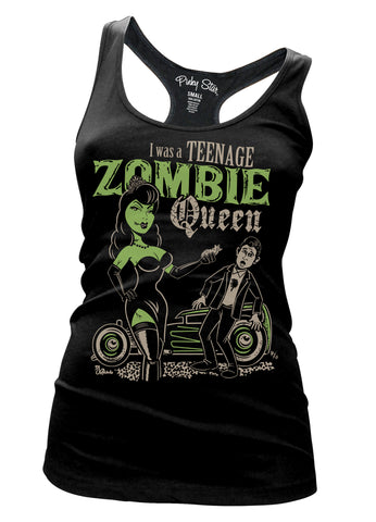 I Was A Teenage Zombie Queen Tank