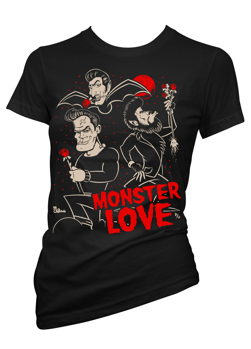 monster love tee - pinky star