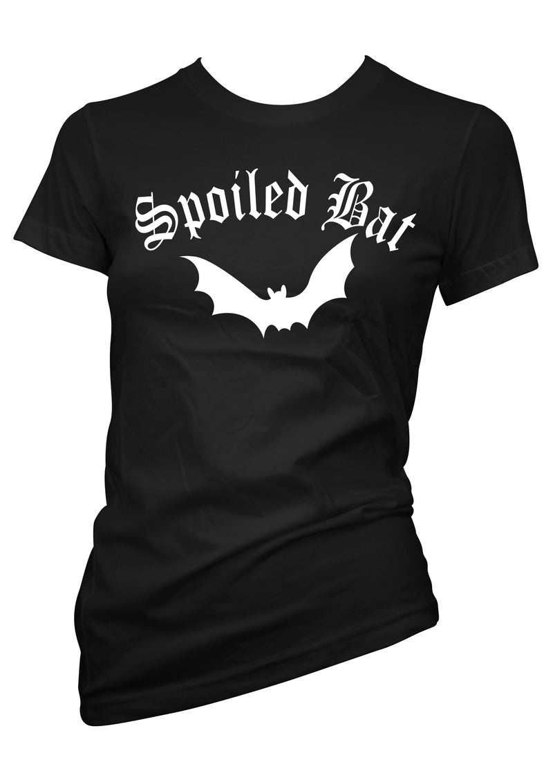 Spoiled Bat Tee - pinky star