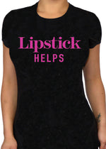 Lipstick Helps - Pinky Star