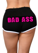 bad ass shorts - pinky star