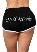 bite me shorts - pinky star