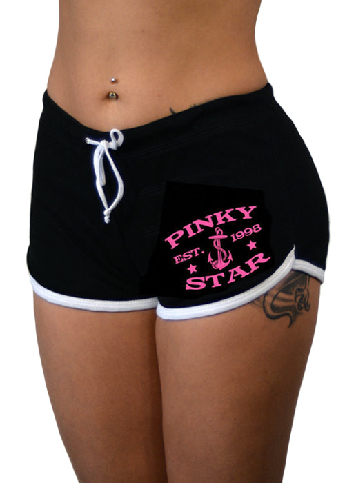 pinky star shorts