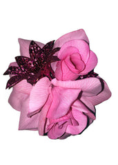 Rose Delight - Pink Hairclip