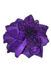 Rose Delight - Purple Hairclip
