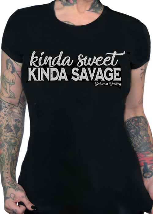 kinda sweet kinda savage - pinky star