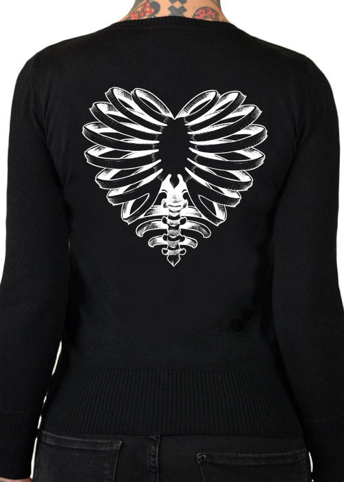 Skeleton Heart Cardigan