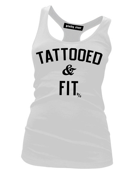 Tattooed And Fit Tank Top