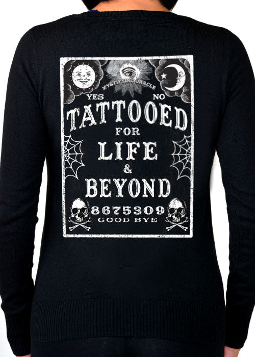 Tattooed For Life And Beyond Cardigan