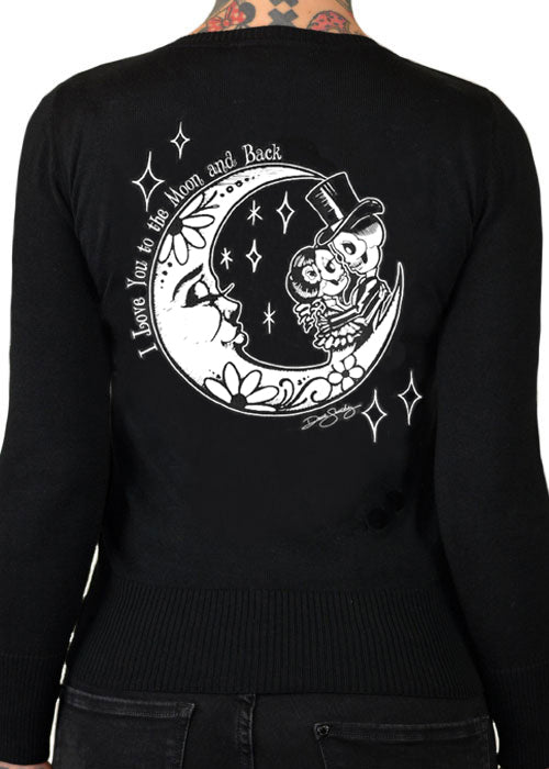 I love you to the moon and back cardigan