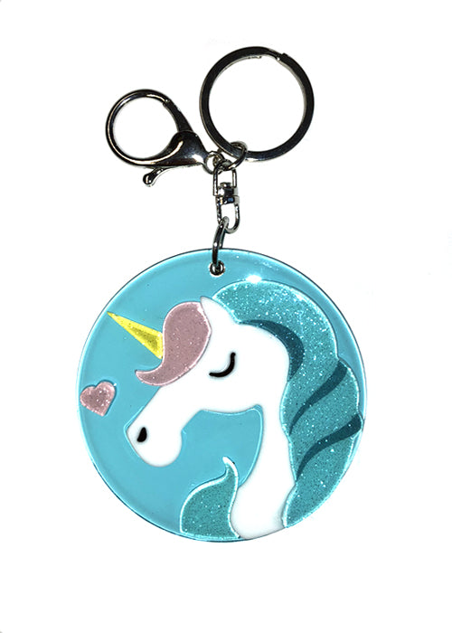Unicorn Purse and Key Pendant
