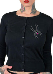 Black Widow Cardigan