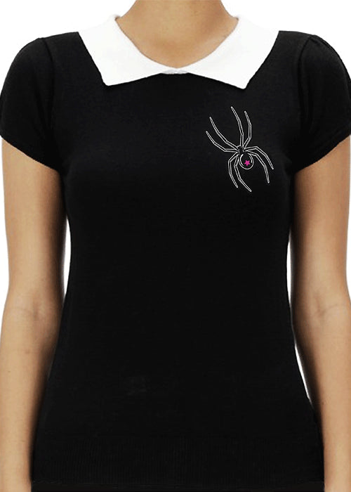 black widow sweater - pinky star