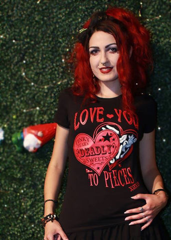 Love You To Pieces Tee
