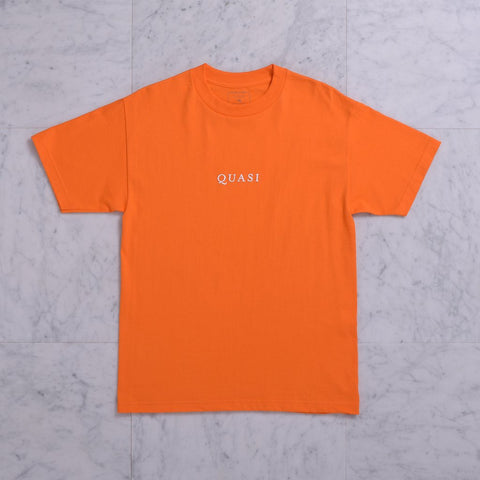Quasi Logo T-shirt - orange