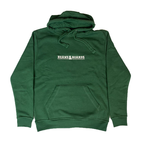 Embroidered Logo Hoodie - Bottle Green
