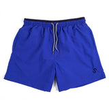 S LOGO SWIM SHORTS - BLUE / NAVY