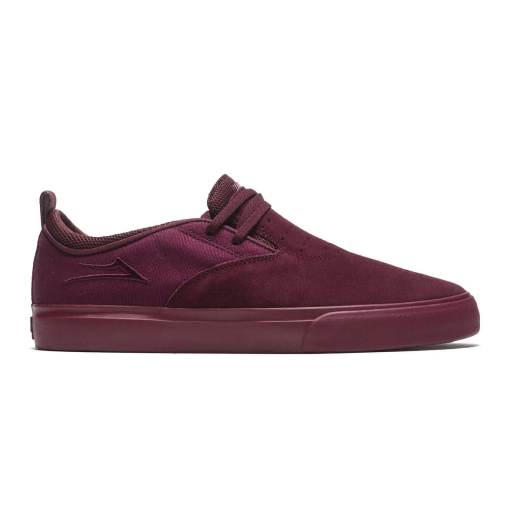 Riley 2 - Burgundy Suede