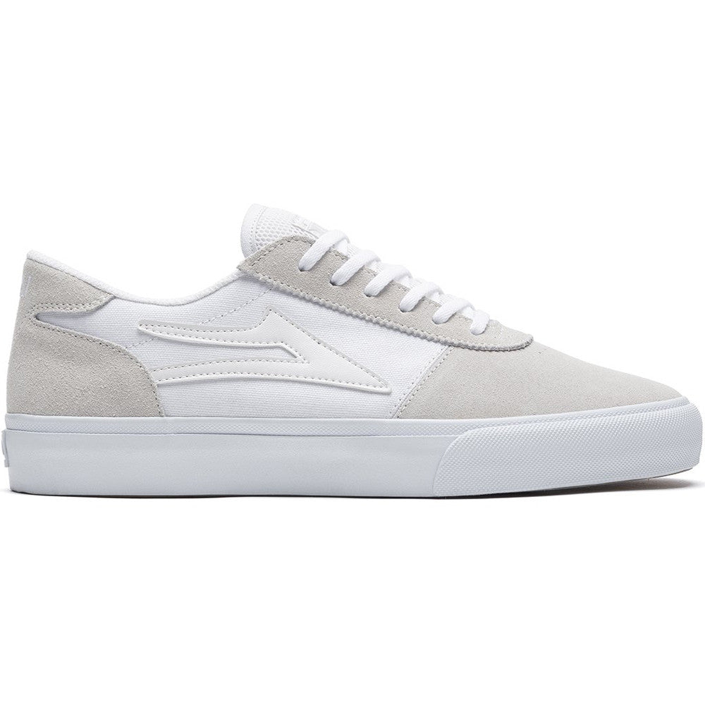 Manchester - White/White Suede