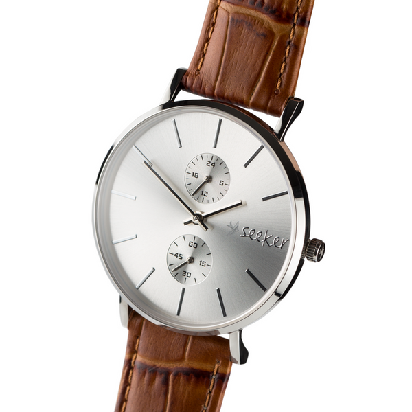 THE AAL METAL - Genuine leather strap