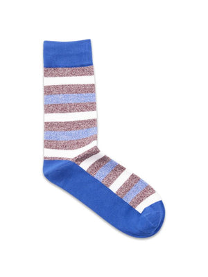 Jack & Jones Basic Stripe Sock Nautical Blue
